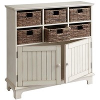 Holtom Cabinet - Antique White