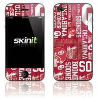 Oklahoma Sooners Team Graphics iPhone 4 Skin