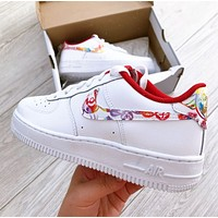Nike Air Force 1 New Popular Women Men Casual Sport Running Shoes Sneakers