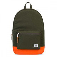 Herschel Supply Co. Green / Orange Settlement Backpack