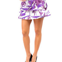 Abstract Print Skirt ~2 Colors!!!!
