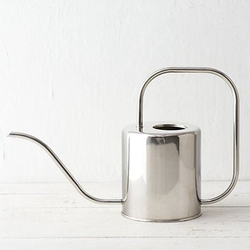 Stainless Watering Can, Large