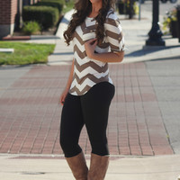 Can't Go Wrong Blouse (MOCHA)