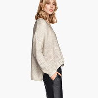 H&M Purl-knit Sweater $17.95