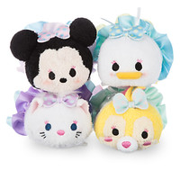 Minnie Mouse and Friends Dressy ''Tsum Tsum'' Plush Set - Mini - 3 1/2''