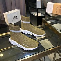 Balenciaga Speed Trainers With Tricolor Sole Sneakers Reference #10717