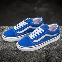 Vans Classic Fashion Old Skool Flats Sneakers Sport Shoes-114