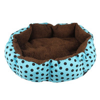 Newly Design Soft Fleece Warm Dog Bed House Plush Nest Mat Pad For Pets Puppy Cats July15