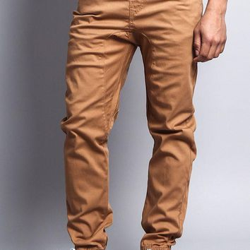 Men's Jogger Twill Pants (Wheat)