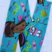 Doc McStuffin fleece headband and scarf set size toddler and school age