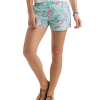 BVI Scene Print Pull-On Shorts
