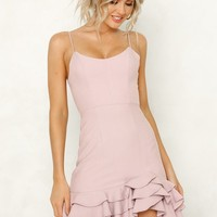 Tinseltown Dress Mauve