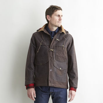 Nigel Cabourn for Filson Work Cape Jacket Rustic - Filson - Context Clothing