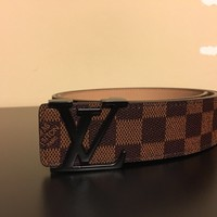 Men's New LV Designer Belt