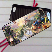 Disney Beauty and the Beast - case iPhone 4/4s,5,5s,5c,6,6+samsung s3,4,5,6