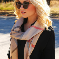 You Make Me Berry Happy Scarf: Multi