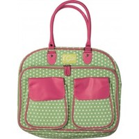 Green w/ White & Pink Craft Cartridge Tote (Canvas) - CGull