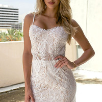 Lace The Day Two-Piece Dress