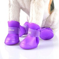 Waterproof Pet Dog Boots, Dog Shoes (Small)