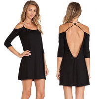 New Fashion Summer Sexy Women Dress Casual Dress for Party and Date = 4661819012