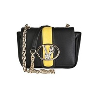 Versace EE1VOBBF2 EMCT Black/Yellow Shoulder Bag