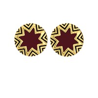 House of Harlow 1960 Jewelry Mini Sunburst Stud Earrings