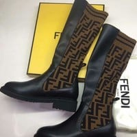 DCCK Fendi Sports elastic stocking boots shoes