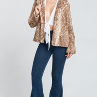 Fischer Fur Jacket ~ Faux-ie Fawn Fur