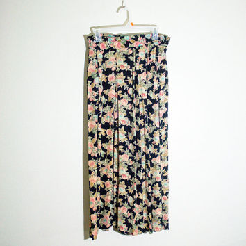 90s floral pants, 1990s spring fashion boho bohemian goth hipster soft grunge urban outfitters 2014 free people