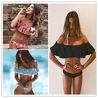 Bandeau Bikinis Women Swimsuit Push Up Swimwear Brazilian Bikini Set Beach Bathing Suit Swim Wear Biquini