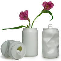 Apartment 48 - Shop - Decor - Porcelain Can Vases - Home Furnishings and Interior Design - New York City
