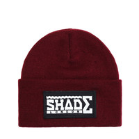 SHADE Beanie Hat - Burgundy - SHADE London   The official website and online store for SHADE London