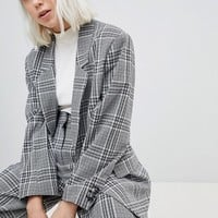 Weekday Check Blazer at asos.com