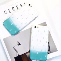 Cool drop of water phone case for iPhone 7 7 plus iphone 6 6s 6 plus 6s plus + Nice gift box 080902