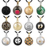 Retail Eudora Pregnancy Ball Jewelry Gift Chime Ball Mexican Bola Belly Sounds Pendant Harmony Bola Ball Pendants Necklace Gift