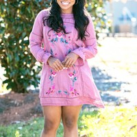 By Your Side Dress in Wine | Monday Dress Boutique