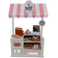 The Queen's Treasures 18-inch Doll Accessory - Interchangeable Shoppe Playset - Bakery - The Queen's Treasures - Dollhouses & Accessories - FAO Schwarz®