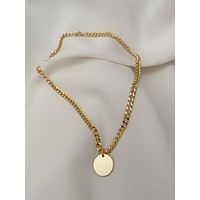 Fina Curb Chain Necklace