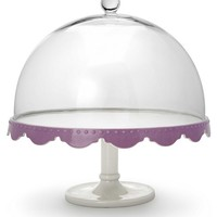 'Dream' Footed Cake Plate with Dome 28cm