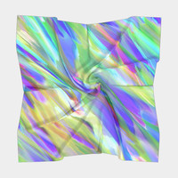 Colorful digital art splashing G401 Square Scarf Square Scarf