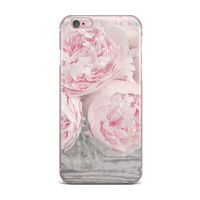 """Suzanne Harford """"Pink Peony Flowers"""" Floral Photography iPhone Case"""