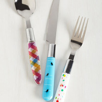 Quirky Chopsy Turvy Cutlery Set by ModCloth
