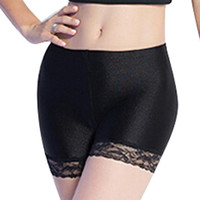 High Quality Women Safety Shorts Spandex Pants  Cool Shorts Sexy Lace Seamless Women's Panties Under Safety Underwear GS