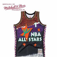 DCCK 1995 All Star Mitchell & Nell Anfernee Hardaway Swingman NBA Jerseys