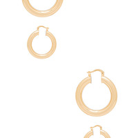 8 Other Reasons Drip Earring Set in Gold
