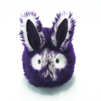 Violet the Purple and White Bunny Stuffed Animal Plush Toy