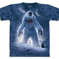 The Mountain Yeti Abominable Snowman Adult T-shirt