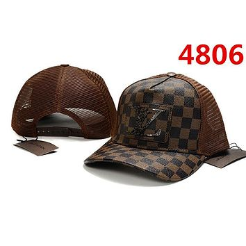 COFFEE LV Classic Baseball Cap Sun Cap Sports Hat for Women Men Adjustable
