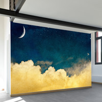 One For The Dreamers Wall Mural