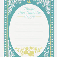 Things That Make Me Happy Poster